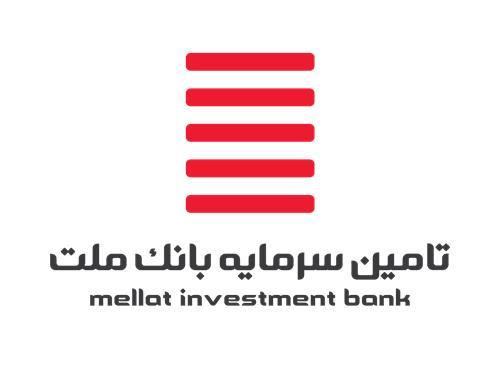 Mellat Investment Bank has been listed on Tehran Stock Exchange.