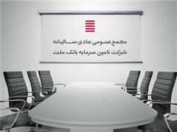 خدمات مالی-تامین سرمایه بانک ملت به مجمع عمومی عادی سالیانه میرود